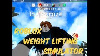 ROBLOX | GEWICHT LIFTING 🏋🏻 ♂️ SIMULATOR 3
