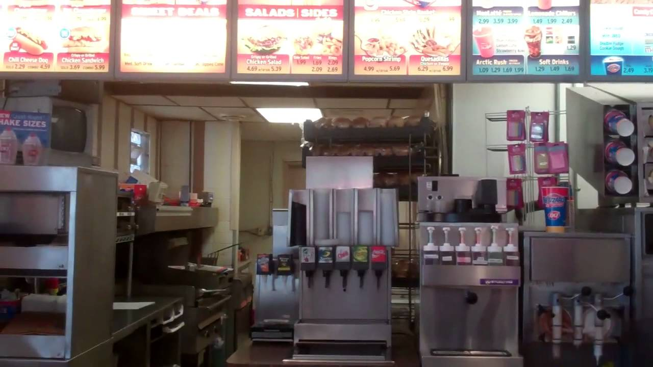 Inside The Dairy Queen Youtube