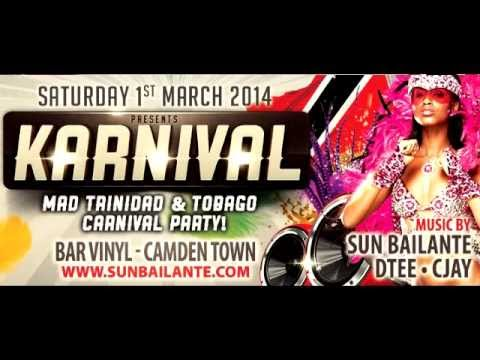 Sun Bailante Trinidad & Tobago Carnival Soca Mix 2014 - Best songs