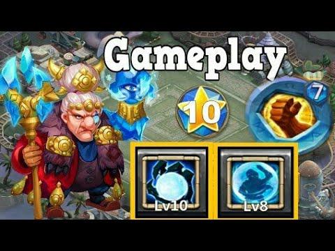 Ma Hatma - Game Play (8/8 Bw) | 7 Bf Insignia | Insane Hero | Castle Clash