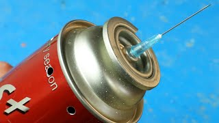 Few people know this secret of a gas cartridge! Don't even think about throwing it away!