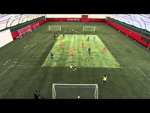 Soccer Drills: Passing/Receiving