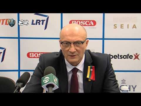 """SIL–Karaliaus Mindaugo taurės rungtynių komentarai: """"Žalgiris"""" - """"Lietkabelis"""" [2017-02-17]"""