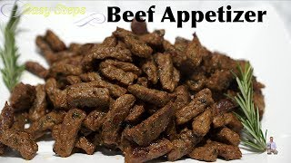 How To Cook Perfect Beef Appetizer Recipe