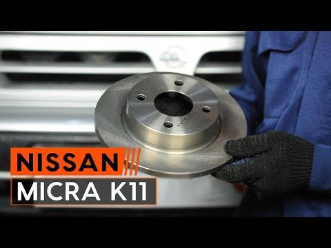 ATE Bremsbeläge vorne für Nissan Micra