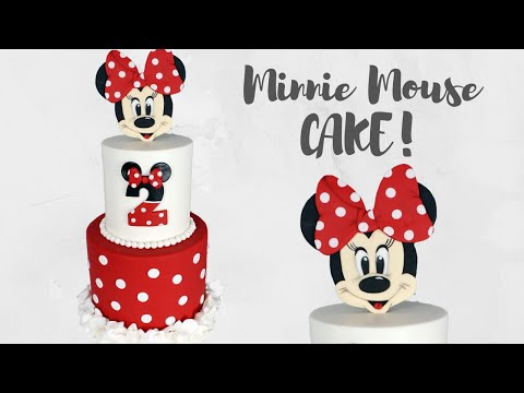 Disney's Minnie Mouse Ruffly Cake Tutorial!