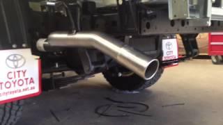 Toyota Land Cruiser Turbo Diesel Exhaust