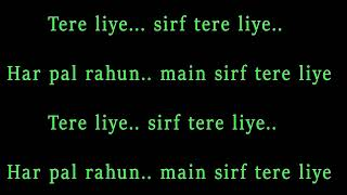 Tere Liye | Namste London | Atif Aslam | Karaoke Version