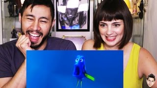 FINDING DORY trailer reaction review by Jaby & Casey!