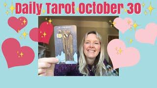 Daily Tarot October 30,  2018 ~ A New Way