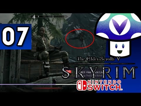 [Vinesauce] Vinny - The Elder Scrolls V:  Skyrim [Switch] (part 7)