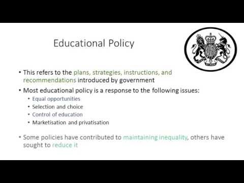 01 History of Education Policies in the UK