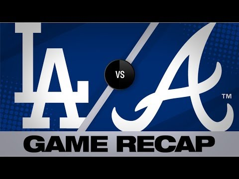 Dodgers belt 4 homers in 8-3 win vs. Braves | Dodgers-Braves Game Highlights 8/16/19