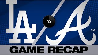 Dodgers belt 4 homers in 8-3 win vs. Braves | Dodgers-Braves Game Highlights 8/16/19