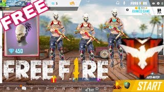 Free Fire live GIVEAWAY | Squad Ranked Game | Heroic Game Play  [Hindi]