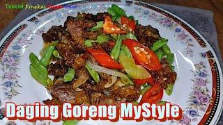 Daging Goreng Mystyle - Tutorial Ringkas Resepi Terbaik