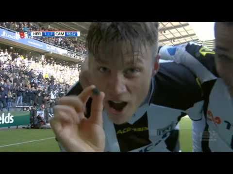 Heracles Almelo 3-1 SC Cambuur (13-03-2016) - HIGHLIGHTS