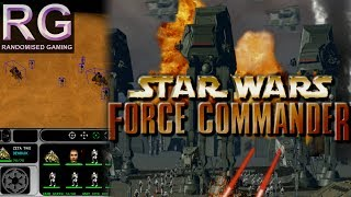 Star Wars Force Commander - PC - Intro & mission 1 - 3 gameplay [HD 1080p 60fps]