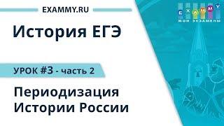 История ЕГЭ 2019. Урок #3-2. Периодизация Истории России