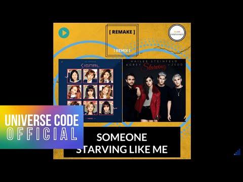 "[REMAKE] - TWICE & Hailee Steinfeld & Grey (ft. Zedd) ""SOMEONE STARVING LIKE ME"" ( 280Remix)"
