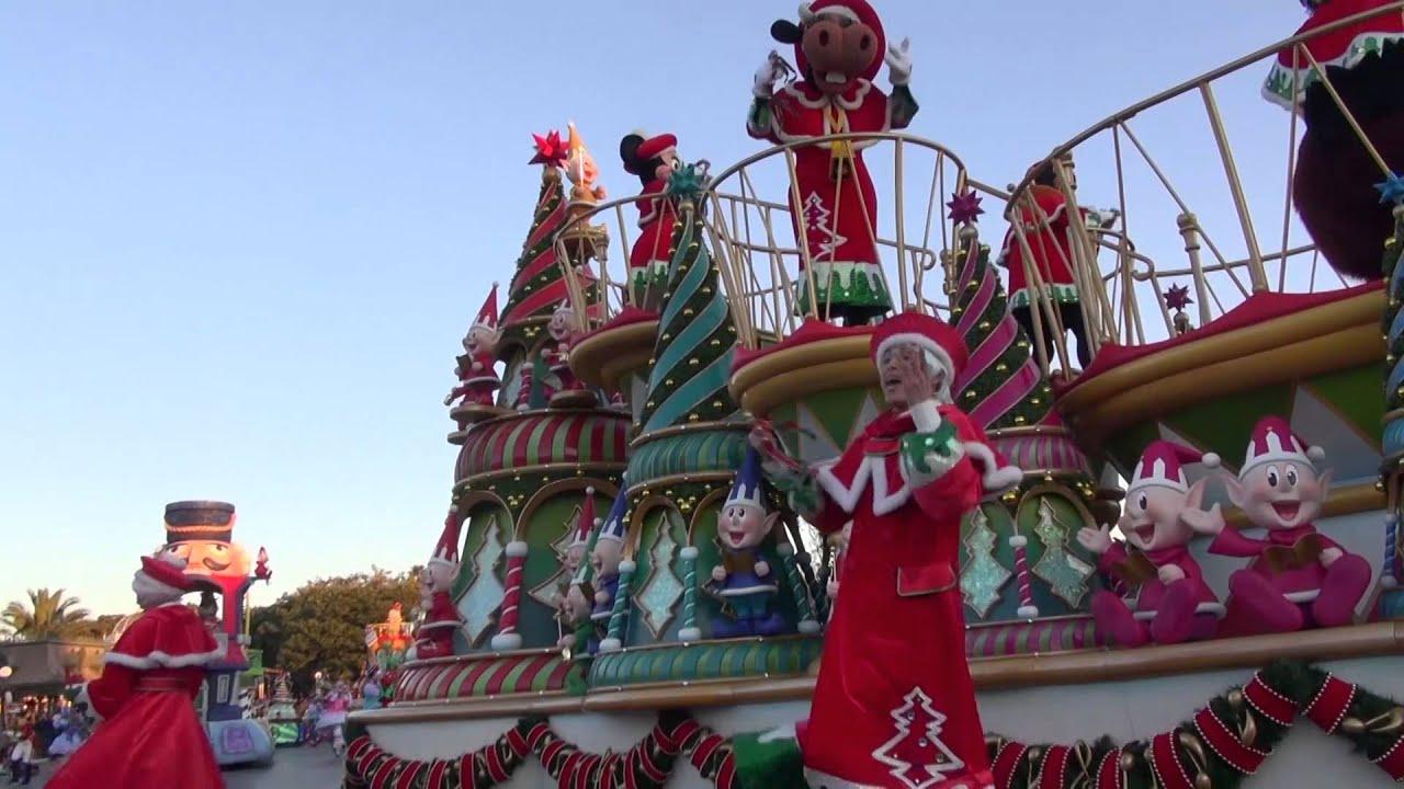 高音質】tdl ディズニー・サンタヴィレッジ・パレード 2012/12/01 - youtube