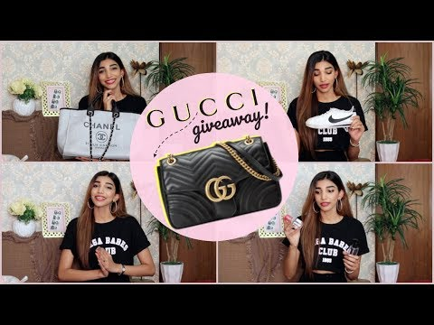 2017 Favourites | Gucci Giveaway (Worldwide) | Juhi Godambe