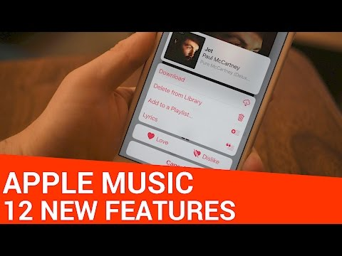 12 New Apple Music App Features in iOS 10
