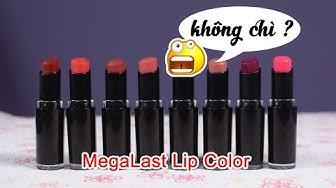 Swatch + Review son Wet n Wild Megalast Lip Color - son không chì ? | Tiny Loly