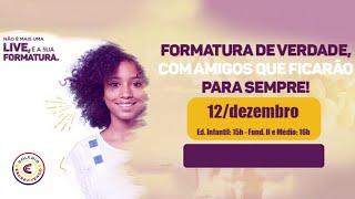 LIVE FORMATURA EDUCAÇÃO INFANTIL 2020