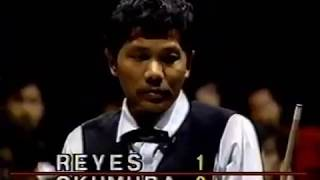 1992 Tokyo Open World 9 Ball Tournament Finals Efren Reyes vs Takeshi Okumura