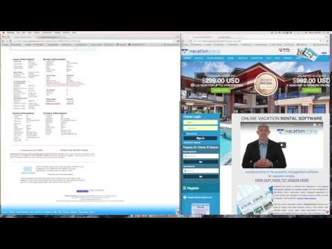 Split Payment Options - ivacationonline Vacation Rental Software