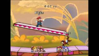Project M 3.0 - Box7 (Mario) vs Chaser (Link)