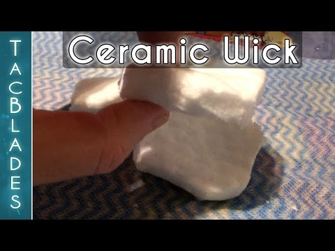 New Ceramic Wick for Alcohol Stoves