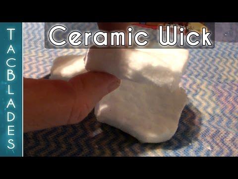 New Ceramic Wick for Alcohol Stoves