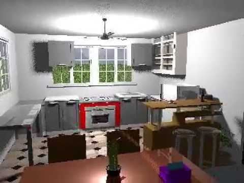 Sweet home 3d render test youtube for Home 3d