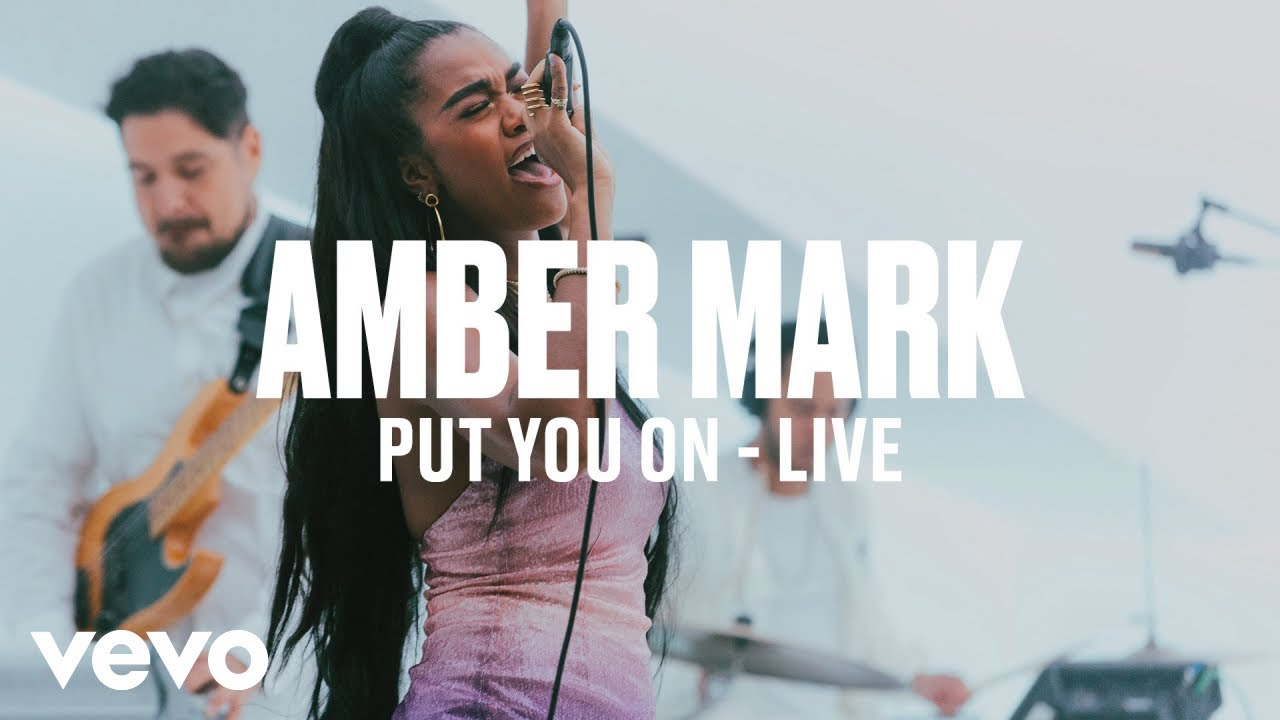 Amber Mark - Put You On (Live) | Vevo DSCVR ARTISTS TO WATCH 2019