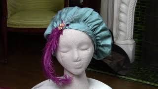 Feather & Pin Options for a Regency Tam