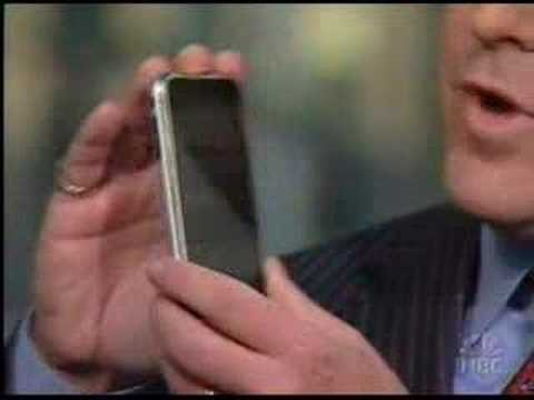 NBC Nightly News reports on the First Generation iPhone