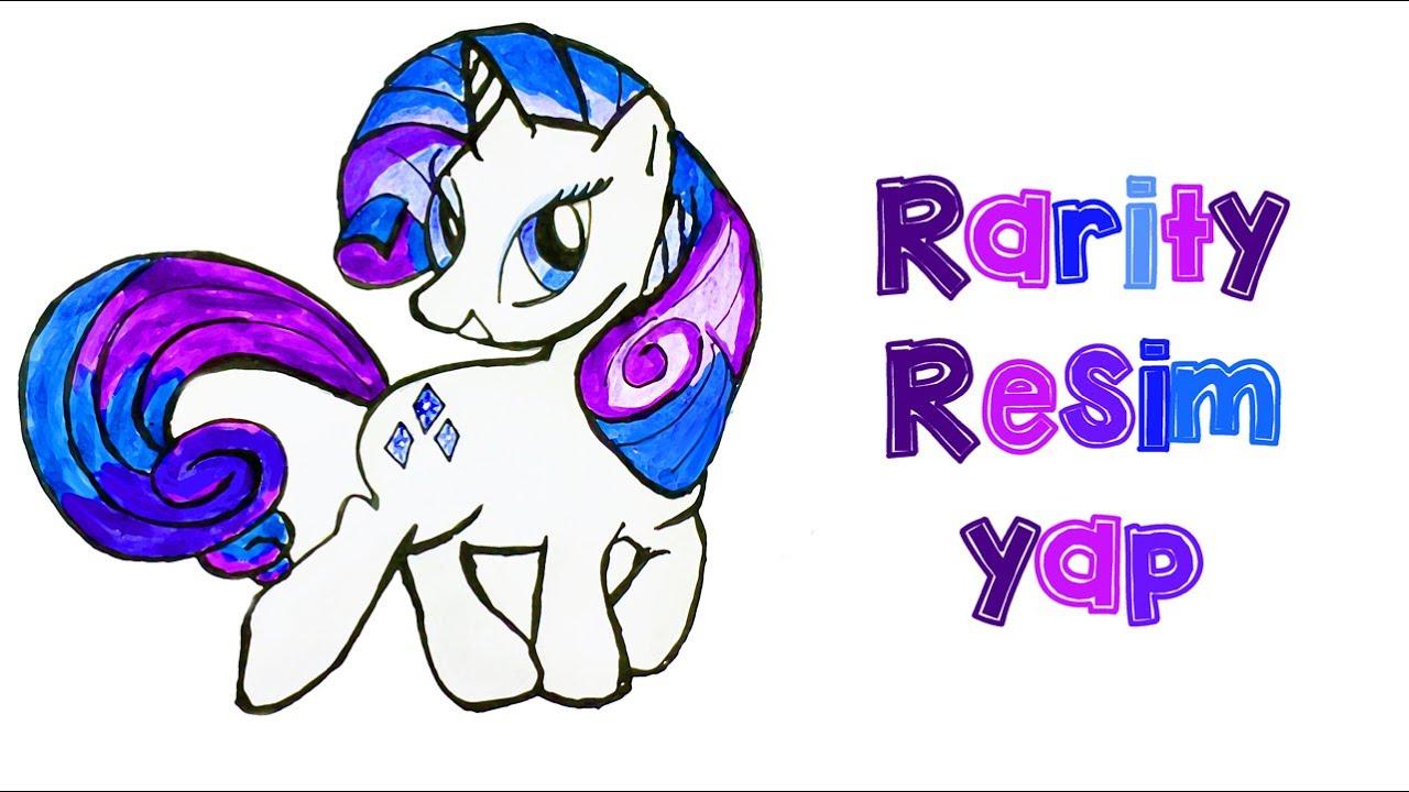 Bölüm 3 My Little Pony Rarity Resimi Nasıl çizilir