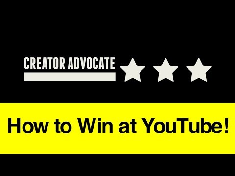 Entrepreneur Advice: How to Win at YouTube!