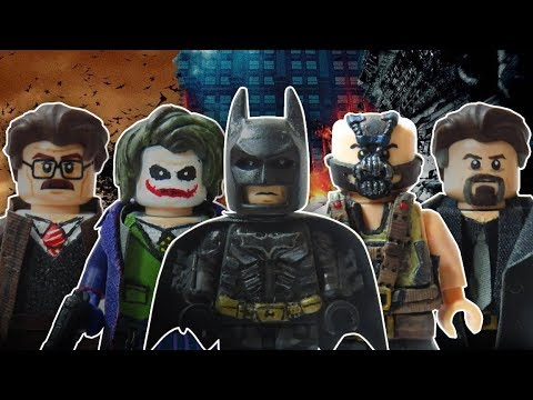 Lego The Dark Knight Trilogy MInifigures (In Memory of Heath Ledger)