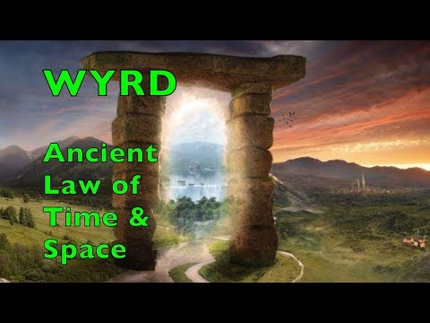 WYRD The Law of Time and Space. What is the difference between Destiny (Orlog) and WYRD?
