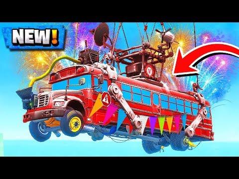 *NEW* Fortnite Battle Bus CONFIRMED! | Big One Time EVENT! ( Season 5 Leaks )