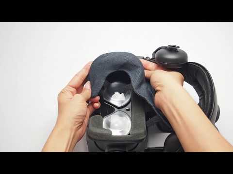 How to install the HTC Vive VR Cover
