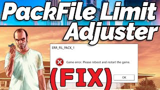 How to Install PackFile Limit Adjuster for GTA 5 (GTA Gamer)