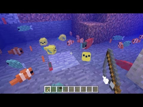 Living fish mod download minecraft forum for How to fish in minecraft pe