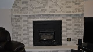 How To Update A Fireplace For Cheap. Renovate A Fireplace On Tight A Budget. Fireplace Makeover
