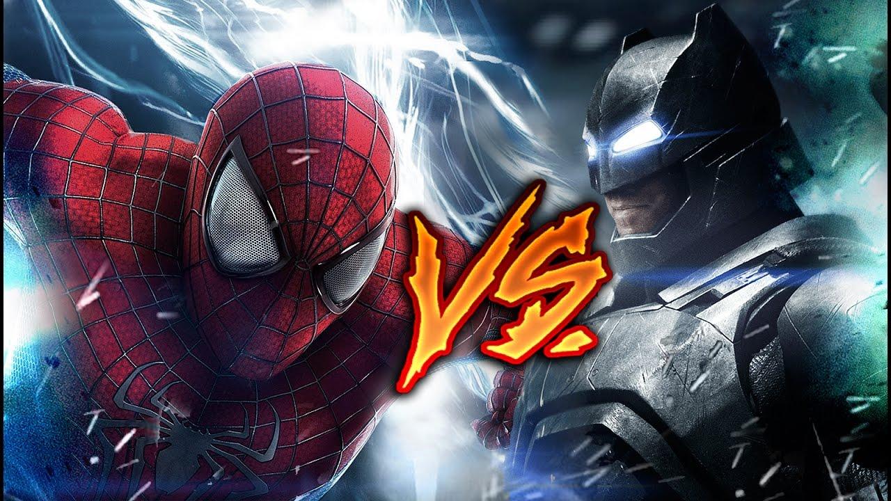 BATMAN VS SPIDERMAN | BATALLA DE HÉROES | KRONNO & ZARCORT