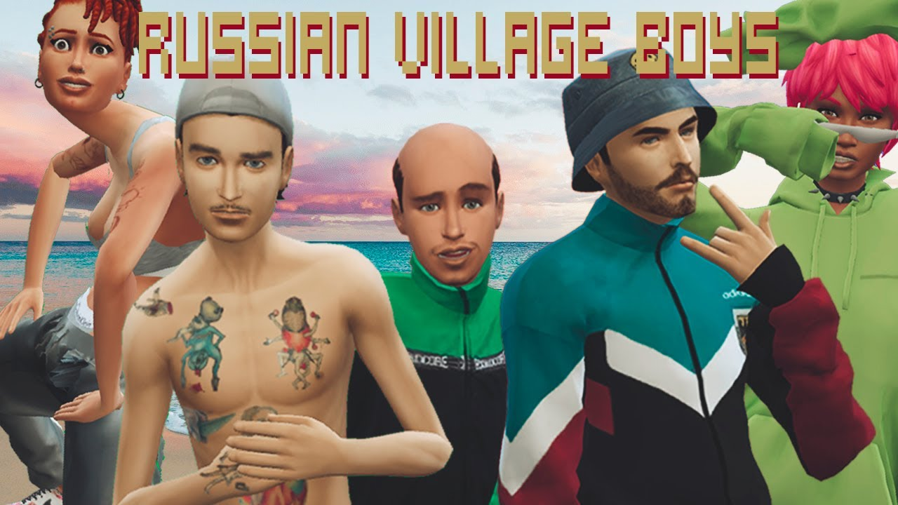 Russian Village Boys - Elephant's Dick (Official Music Video) / SIMS 2 SIMS 4