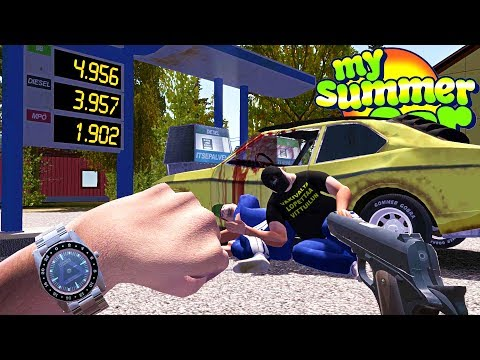 My Summer Wrist Watch Robbery (Update) - My Summer Car Gameplay Highlights Ep 114